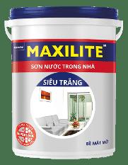 Sơn MaxiliteTrong Nhà Siêu Trắng